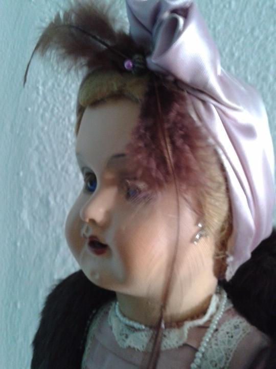 Muñeca española clasica: PRECIOSA MUÑECA CATALANA ,AÑOS 20 ,ANDADORA . - Foto 5 - 103645171
