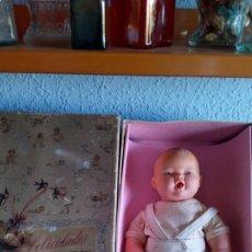 Muñeca española clasica: MUÑECO FERNANDIN AÑOS 50 DE NEMROD CON CAJA. Lote 103842211