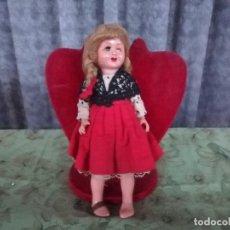 Muñeca española clasica: ANTIGUA MUÑECA CELULOIDE ARTICULADA MUÑECA. Lote 103946435