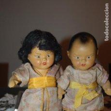 Muñeca española clasica: PAREJA DE CHINITOS DE TERRACOTA ESPAÑOLES. Lote 104305123