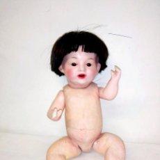 Klassische spanische Puppen - Muñeco bebe de Cabello Orellana fabrica de Barcelona B2.Porcelana y composición. Principio S.XX - 104380195