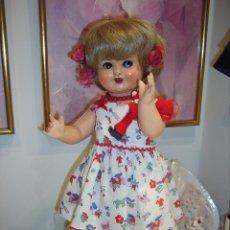 Muñeca española clasica: MARA, MUÑECA ESPAÑOLA, AÑOS 40, CARTÓN PIEDRA. Lote 99853359