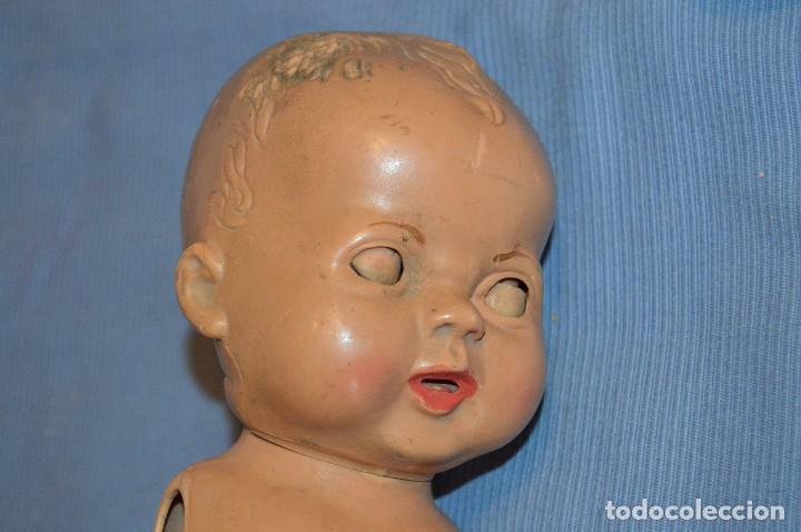 Muñeca española clasica: PSA - Plásticas Santa Elena - Muñeco celuloide / pasta / plástico duro - Años 50 - Admito ofertas - Foto 20 - 104773987