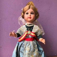 Muñeca española clasica: LINDA CARLA DE ICSA FALLERA MUÑECA EN CELULOIDE, OJOS DURMIENTES Y FLIRTY. Lote 105095623