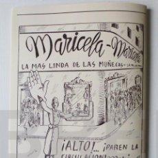 Muñeca española clasica: REVISTA PREGÓN DE MARICELA CON MODELOS DE VESTUARIO. Lote 105463103