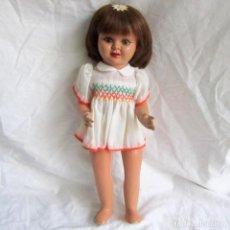 Muñeca española clasica: MUÑECA TERESÍN AÑOS 50 CARTÓN PIEDRA 37 CM DE ALTURA. Lote 105996831