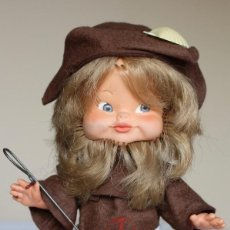 Muñeca española clasica: ANTIGUO MUÑECO MARCA FLORIDO, MODELO PEREGRINO, AÑOS 60' - 21,5 CM. Lote 107883027