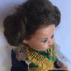 Muñeca española clasica: MUÑECA REGIONAL CELULOIDE. Lote 108232171