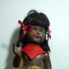 Muñeca española clasica: MUÑECA CARA CELULOIDE CUERPO COMPOSICION 45 CM. Lote 108382339