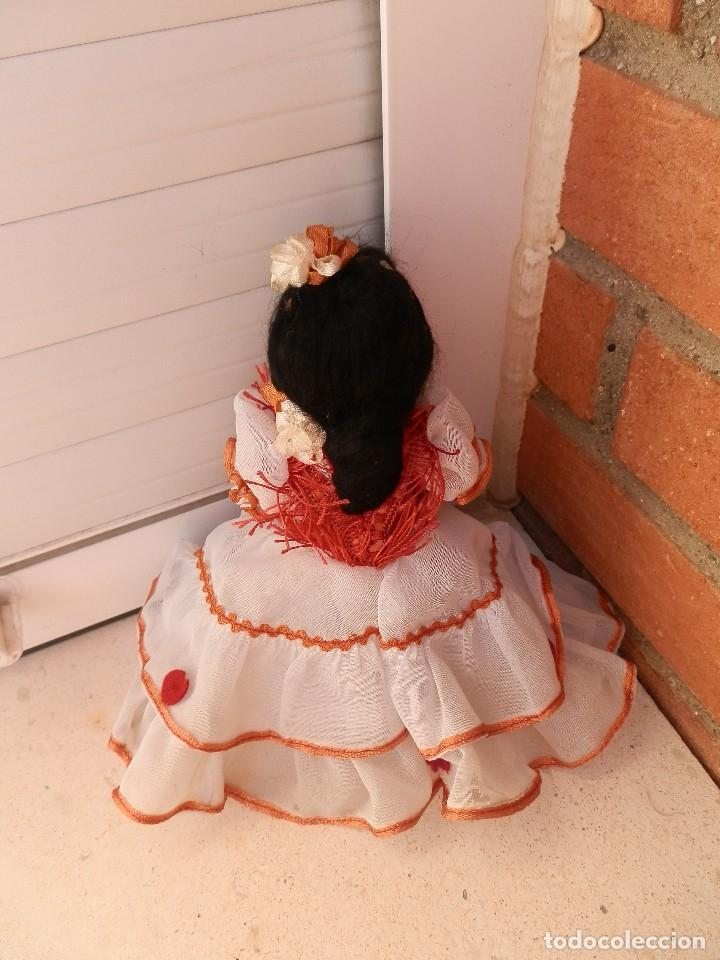 Muñeca española clasica: ANTIGUA MUÑECA DE TERRACOTA AÑOS 40-50 MADE IN SAPIN. - Foto 2 - 108872559