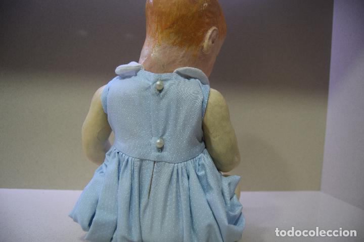 Muñeca española clasica: muñeca pepon de cartón - Foto 3 - 109086371