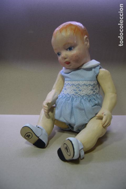 Muñeca española clasica: muñeca pepon de cartón - Foto 4 - 109086371