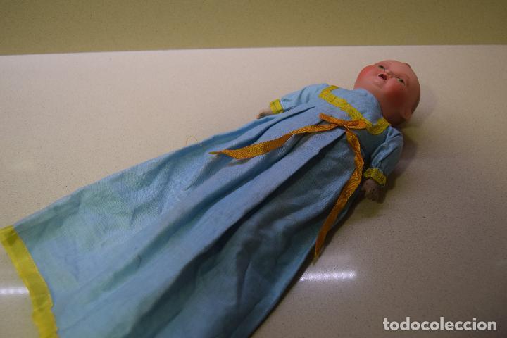 Muñeca española clasica: muñeca bebe original posible años 40 - Foto 3 - 109093299