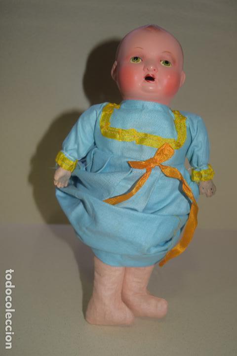 Muñeca española clasica: muñeca bebe original posible años 40 - Foto 4 - 109093299