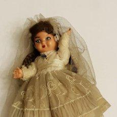 Muñeca española clasica - MUÑECA CELULOIDE VESTIDA DE PRIMERA COMUNIÓN AÑOS 30-40 - 109317659