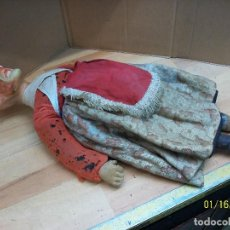 Muñeca española clasica: ANTIGUA MUÑECA DE ALAMBRE-AÑOS 1940 APROX. Lote 109394739