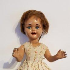 Muñeca española clasica: MUÑECA ESPAÑOLA ORIGEN VALENCIA DE ERPE AÑOS 50. Lote 109453330