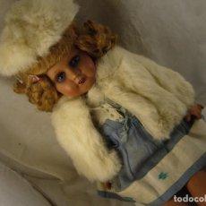 Muñeca española clasica: MUÑECA ANTIGUA DE CARTÓN PIEDRA . ALTURA 57 CM. Lote 109503511