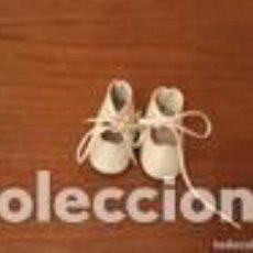 Muñeca española clasica: ZAPATOS MUÑECA BLANCOS. Lote 109533163