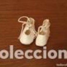 Muñeca española clasica: ZAPATOS MUÑECA BLANCOS. Lote 109533727