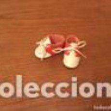 Muñeca española clasica: ZAPATOS MUÑECA BICOLOR. Lote 109534023