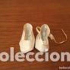 Muñeca española clasica: ZAPATOS MUÑECA BLANCOS. Lote 109534131