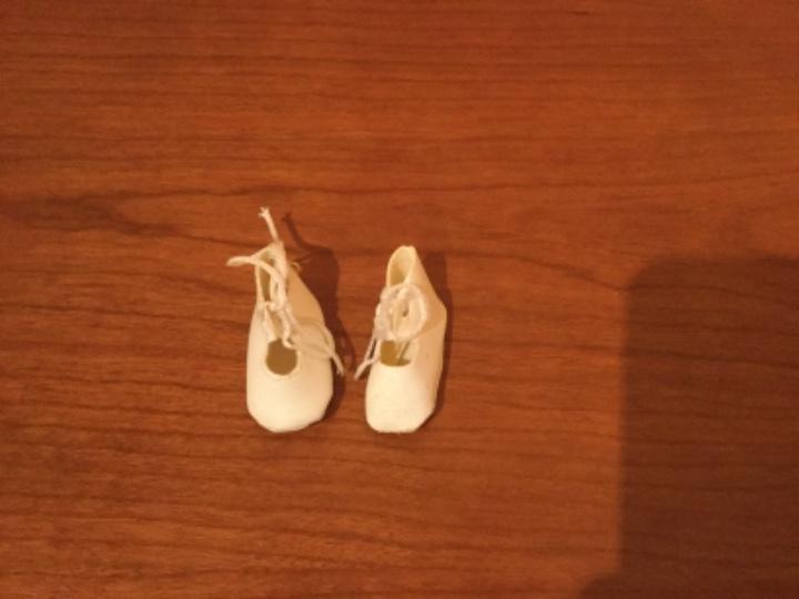 Muñeca española clasica: Zapatos muñeca blancos - Foto 2 - 109533727