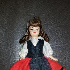 Muñeca española clasica: MUÑECA AÑOS 60 MIDE 15 CM.. Lote 110718043