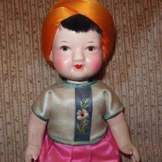 Muñeca española clasica: MUÑECO ALADINO,CARTÓN,AÑOS 40 Ó 50. Lote 110889159