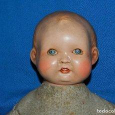 Muñeca española clasica: (M) BEBE ANTIGUO DE TERRACOTA ANTIGUO , 42 CM, TODO ORIGINAL, VER FOTOGRAFIAS. Lote 111858355