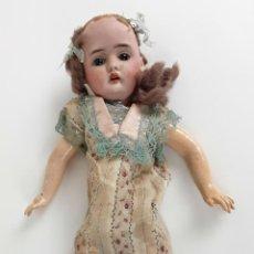 Muñeca española clasica: MUÑECA DE COMPOSICIÓN, MADERA Y PORCELANA DE PRINCIPIOS S.XX.. Lote 111969079