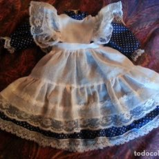 Muñeca española clasica: VESTIDO CON DELANTAL. Lote 113079715