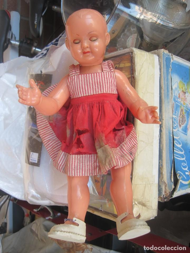 Muñeca española clasica: antigua muñeca sin marca años 50/60 - Foto 4 - 113385587