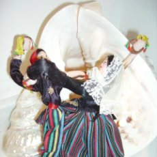 Muñeca española clasica: ANTIGUA PAREJA DE BAILARINES MALLORQUINES.. Lote 54887401