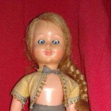 Muñeca española clasica: MUÑECA DE CELULOIDE AÑOS 20 DURMIENTE. Lote 114246443