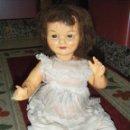 Muñeca española clasica: ANTIGUA MUÑECA CARTON PIEDRA OJOS DURMIENTES. Lote 114309239