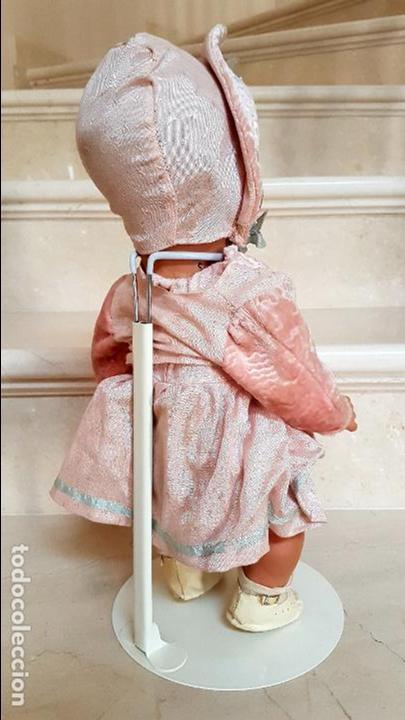 Muñeca española clasica: PRECIOSO MUÑECO, BEBE ANTIGUO DE COMPOSICION CARTON,AÑOS 1930-1940 - Foto 4 - 114803987
