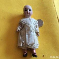 Muñeca española clasica: PEQUEÑA MUÑECA CABEZA BISCUIT 12 CM. Lote 115185627