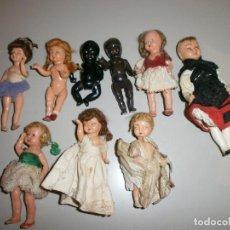 Muñeca española clasica: LOTE DE MUÑECAS ANTIGUAS. Lote 115220379