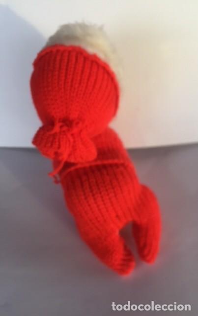 Muñeca española clasica: Muñeco bebe gateador a cuerda funciona Guillem y Vicedo finales años 50 principios 60 - Foto 5 - 115231911