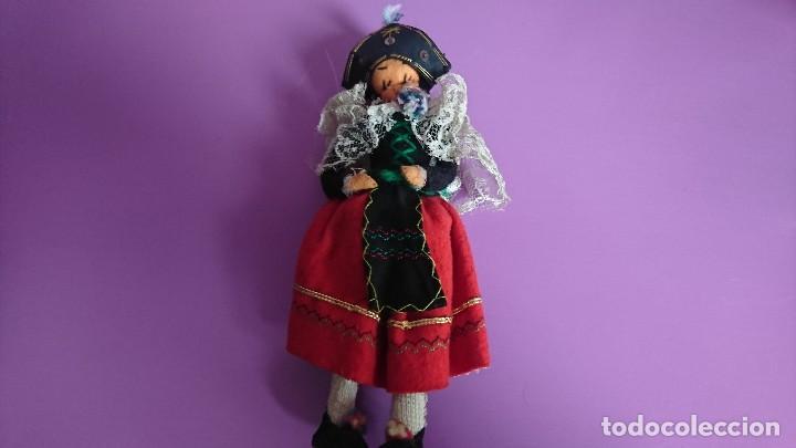 Muñeca española clasica: ANTIGUA MUÑECA REGIONAL TRAJE SEGOVIANA - Foto 2 - 115318179
