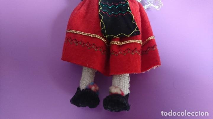 Muñeca española clasica: ANTIGUA MUÑECA REGIONAL TRAJE SEGOVIANA - Foto 4 - 115318179