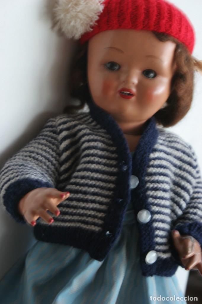 Muñeca española clasica: MARICIELA SANTIAGO MOLINA CON GORRO Y VESTIMENTA ORIGINAL - Foto 2 - 115421911
