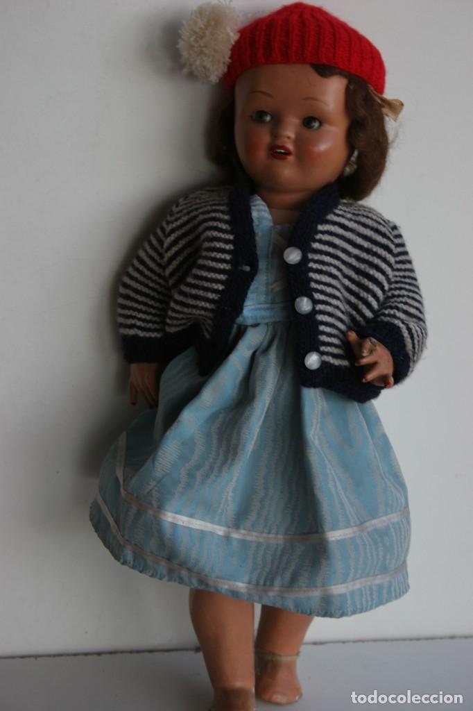 Muñeca española clasica: MARICIELA SANTIAGO MOLINA CON GORRO Y VESTIMENTA ORIGINAL - Foto 4 - 115421911