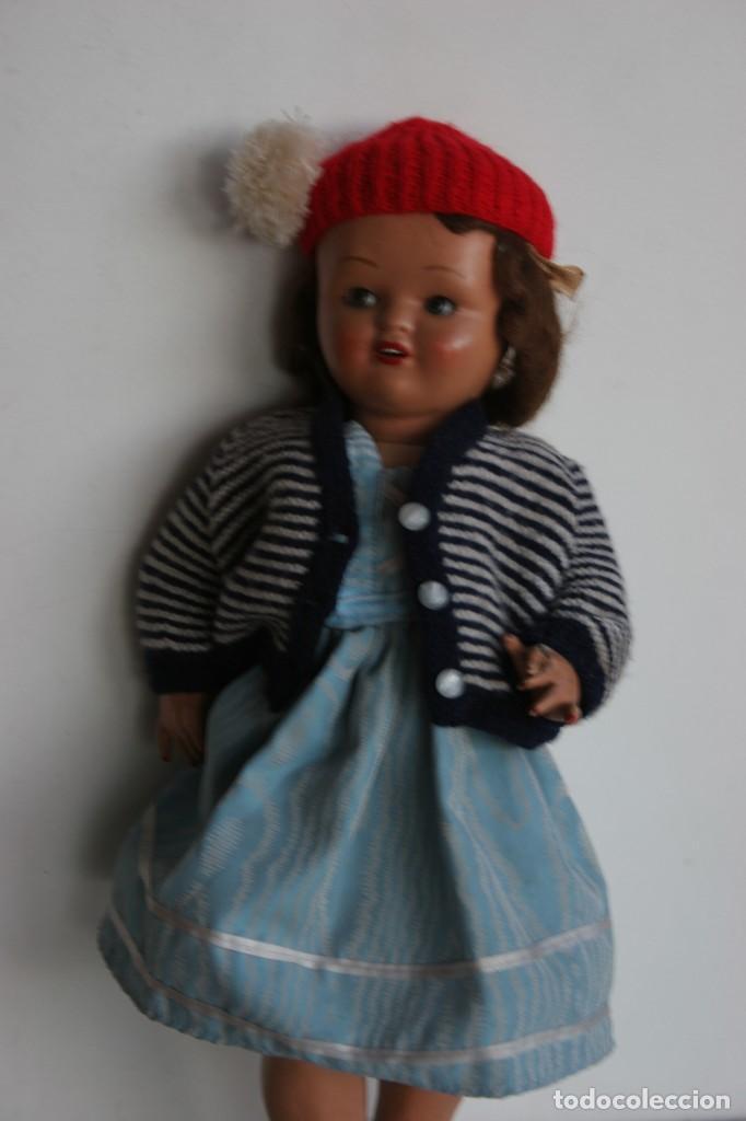 Muñeca española clasica: MARICIELA SANTIAGO MOLINA CON GORRO Y VESTIMENTA ORIGINAL - Foto 5 - 115421911