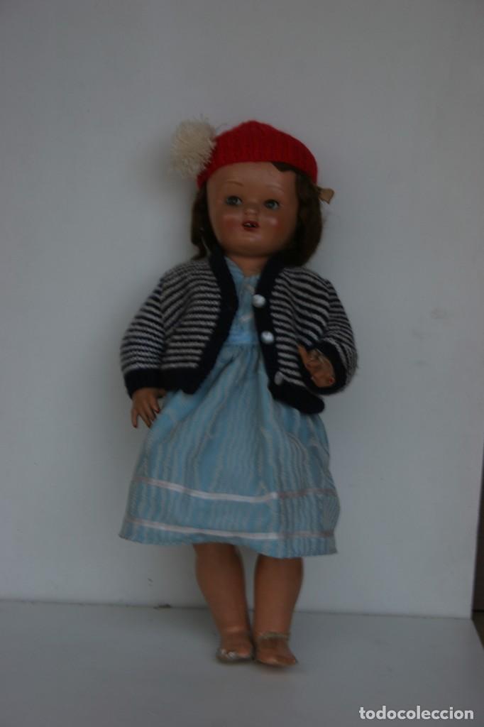 Muñeca española clasica: MARICIELA SANTIAGO MOLINA CON GORRO Y VESTIMENTA ORIGINAL - Foto 6 - 115421911