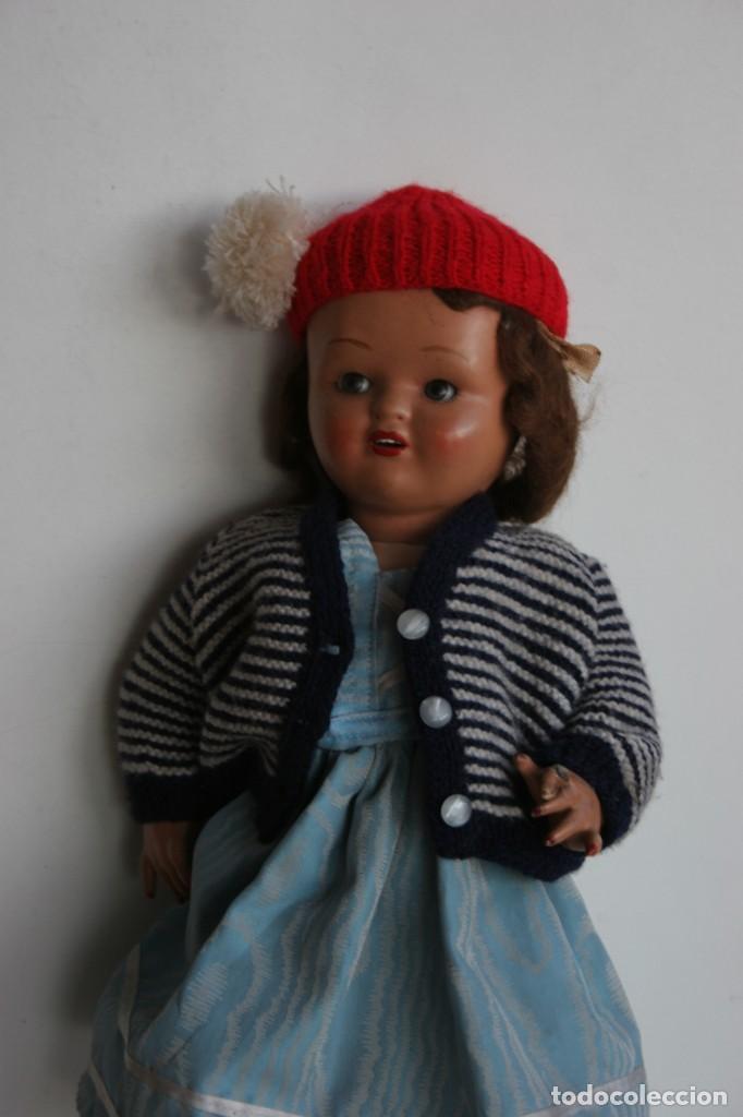 Muñeca española clasica: MARICIELA SANTIAGO MOLINA CON GORRO Y VESTIMENTA ORIGINAL - Foto 7 - 115421911