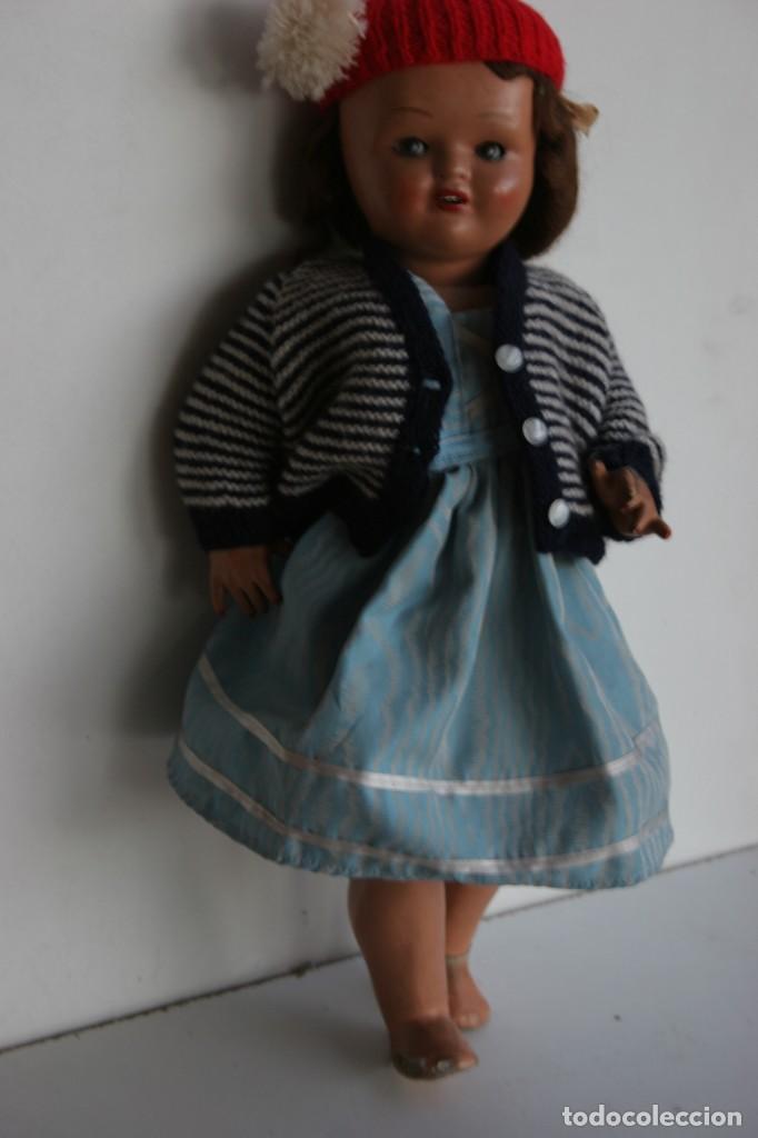 Muñeca española clasica: MARICIELA SANTIAGO MOLINA CON GORRO Y VESTIMENTA ORIGINAL - Foto 8 - 115421911