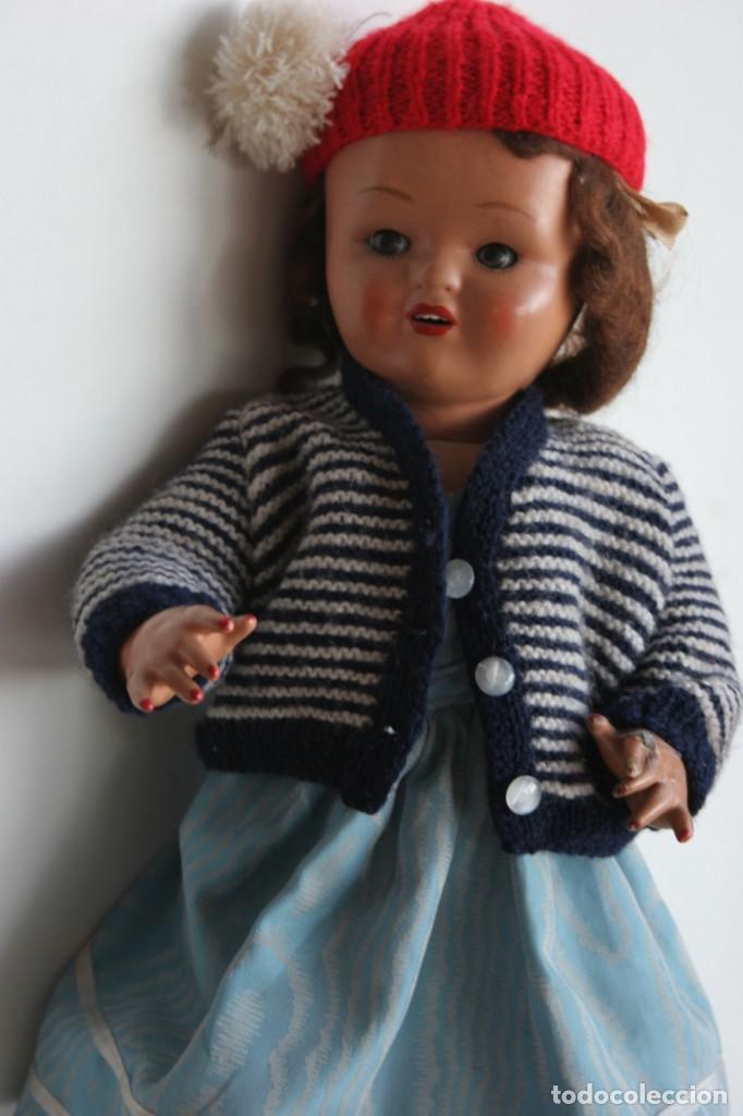 Muñeca española clasica: MARICIELA SANTIAGO MOLINA CON GORRO Y VESTIMENTA ORIGINAL - Foto 10 - 115421911