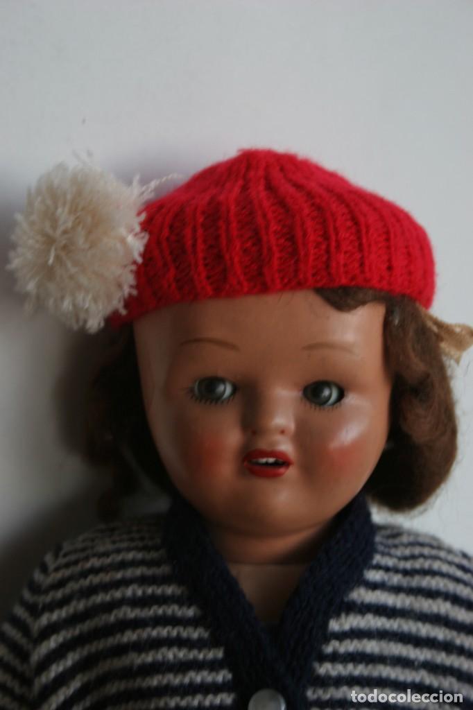 Muñeca española clasica: MARICIELA SANTIAGO MOLINA CON GORRO Y VESTIMENTA ORIGINAL - Foto 19 - 115421911
